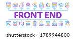 front end development minimal...   Shutterstock .eps vector #1789944800