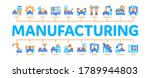 manufacturing process minimal...   Shutterstock .eps vector #1789944803