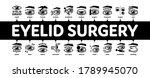 eyelid surgery healthy minimal... | Shutterstock .eps vector #1789945070