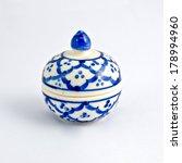 benjarong porcelain on white... | Shutterstock . vector #178994960