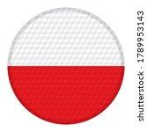 flag of poland vector... | Shutterstock .eps vector #1789953143