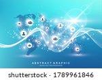 social media network and...   Shutterstock .eps vector #1789961846