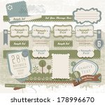 vintage decorative design...   Shutterstock .eps vector #178996670