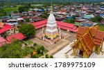 Aerial View Phra That Renu...