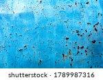 Blue Abstract Metallic...