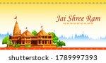 Illustration Of Shree Ram...