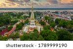 Aerial View Wat Phra That...