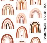vector baby seamless pattern.... | Shutterstock .eps vector #1790018156