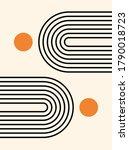 abstract background. line art.... | Shutterstock .eps vector #1790018723