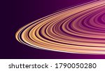 Yellow And Purple Disk Made Od...