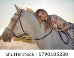 Small photo of Photoshoot with jess and horse
