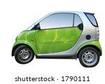 green smart isolated on white | Shutterstock . vector #1790111
