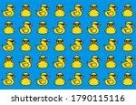 Yellow Duck In Sunglasses....