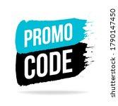 promo code  coupon code icon ... | Shutterstock .eps vector #1790147450