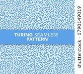 blue turing seamless pattern...   Shutterstock .eps vector #1790149019