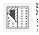 linoleum or lino floor cover... | Shutterstock .eps vector #1790194889