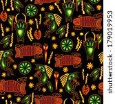 ethnic seamless pattern.... | Shutterstock . vector #179019953