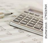 calculator | Shutterstock . vector #179026964