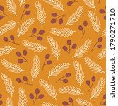 autumn seamless pattern with...   Shutterstock .eps vector #1790271710