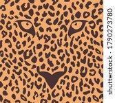 leopard seamless pattern...   Shutterstock .eps vector #1790273780