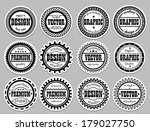 collection award sticker for... | Shutterstock .eps vector #179027750