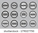 collection award sticker for... | Shutterstock .eps vector #179027750