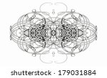 pattern from a fractal  | Shutterstock . vector #179031884