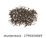pile of black tea isolated on... | Shutterstock . vector #1790324069