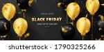black friday luxury background...   Shutterstock .eps vector #1790325266