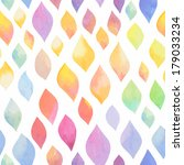 watercolor abstract seamless... | Shutterstock .eps vector #179033234