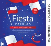 fiestas patrias   national... | Shutterstock .eps vector #1790336510