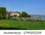 Freudenberg Castle, beautiful mansion in Buonas (Risch Rotkreuz), Canton of Zug, Switzerland