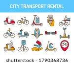 city transport rental color...