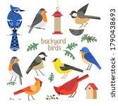 Birdwatching Icon Vector Set....
