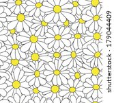 daisy pattern | Shutterstock .eps vector #179044409