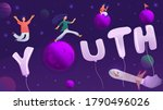 illustration typography young... | Shutterstock .eps vector #1790496026