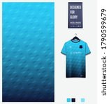 turquoise gradient geometry... | Shutterstock .eps vector #1790599679