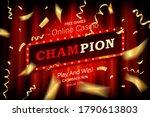 Champion Banner. Champ...