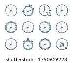 time and timer related vector...