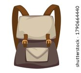 backpack for urban outfit ... | Shutterstock .eps vector #1790664440