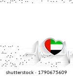 uae patriotic background. uae...   Shutterstock .eps vector #1790675609