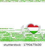 hungary patriotic background....   Shutterstock .eps vector #1790675630