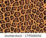 jaguar skin seamless pattern ... | Shutterstock .eps vector #179068346