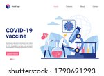 scientists work in laboratory... | Shutterstock . vector #1790691293