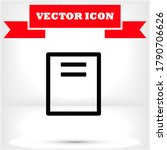 files vector icon   lorem ipsum ...