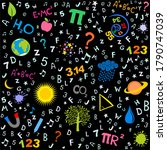 education and science. flat...   Shutterstock . vector #1790747039
