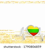lithuania patriotic background. ...   Shutterstock .eps vector #1790806859