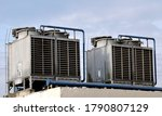 Cooling Machines On The Roof O...