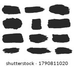 calligraphy straight smears ... | Shutterstock .eps vector #1790811020