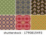 chinese style floral and... | Shutterstock .eps vector #1790815493